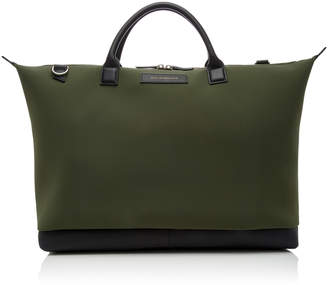 WANT Les Essentiels Hartsfield Leather-Trimmed Weekender Tote