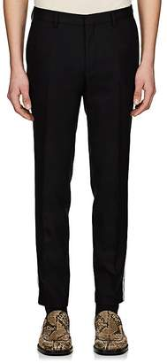 Dries Van Noten Men's Wool Slim Trousers
