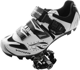 Shimano Venzo Mountain Bike Bicycle Cycling SPD Shoes + Sealed Pedals 45