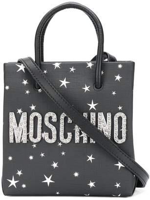 Moschino space bear print mini bag