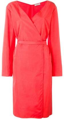 Nina Ricci belted wrap dress