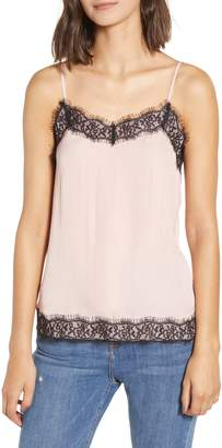 Love, Fire Satin & Lace Camisole