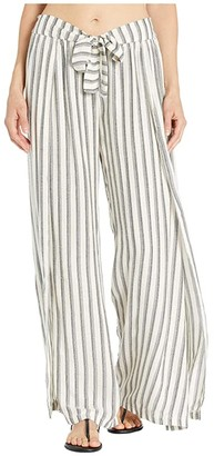 Becca by Rebecca Virtue Getaway Mock Wrap Pants Cover-Up