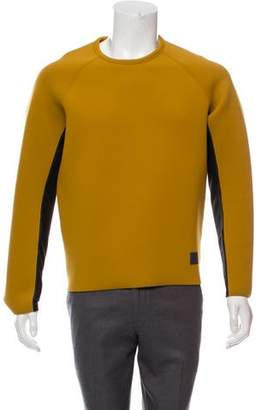 Emporio Armani Crew Neck Neoprene Sweater