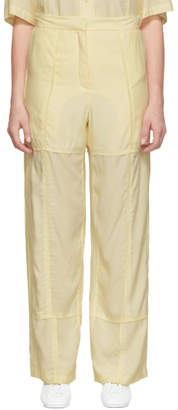 J.W.Anderson Beige Panelled Trousers