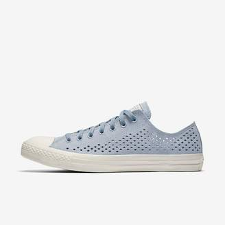 Converse Chuck Taylor All Star Perforated Suede Low Top Unisex Shoe