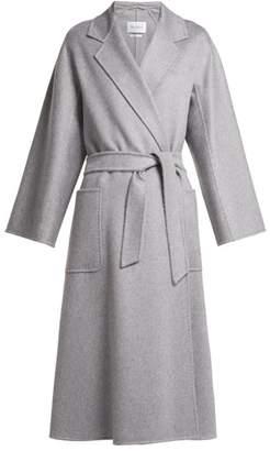 Max Mara Labbro Coat - Womens - Light Grey