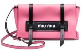 Miu Miu Grace Luxe Leather Clutch