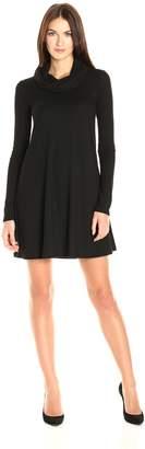 Socialite Women's Long Sleeve Keyhole 24/7 Dress