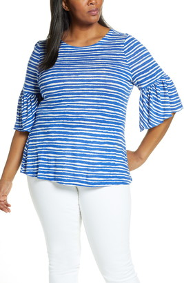 Nic+Zoe Nantucket Linen Blend Top
