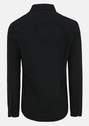 TAROCASH Black Edgar Dress Shirt