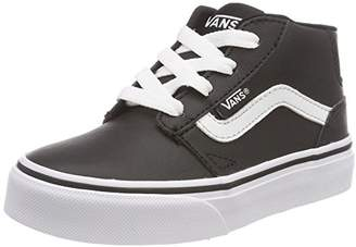 0cf55048452 at Amazon.co.uk · Vans Boys  Chapman Mid Synthetic Leather Hi-Top Trainers,  (Classic Tumble)