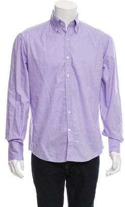 Michael Bastian Woven Button-Up Shirt w/ Tags