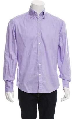 Michael Bastian Woven Button-Up Shirt w/ Tags