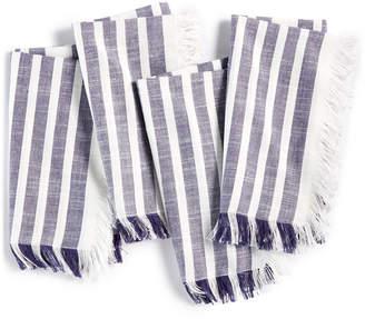 Bardwil CLOSEOUT! Madison Navy 4-Pc. Cotton Napkin Set