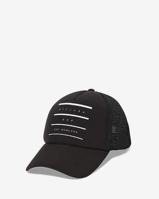 Express Nyc Logo Baseball Hat