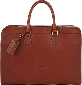 Boldrini Selleria Men's Double-Handle Briefcase