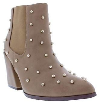 Liliana Lyndon Studded Ankle Booties