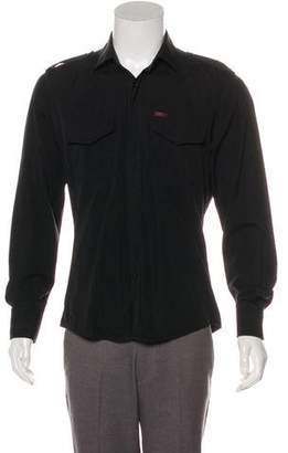 Gucci Web-Accented Military Shirt