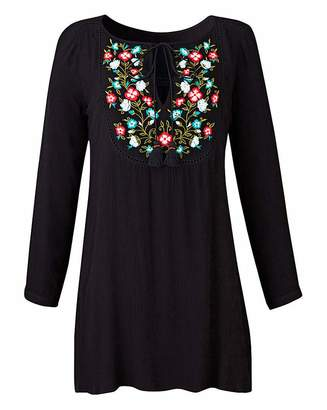Fashion World Embroidered Tunic