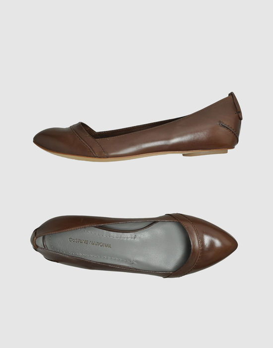 COSTUME NATIONAL Ballet flats