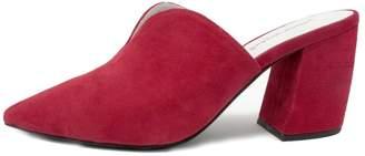 Jeffrey Campbell Red Slide Mule