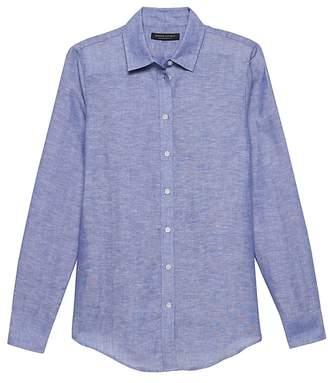 Banana Republic Dillon Classic-Fit Linen-Cotton Shirt