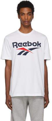 Reebok Classics White Logo T-Shirt