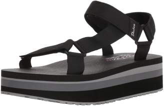 Skechers Women's Whip IT-Carnivale-Adjustable Slingback Platform Sandal