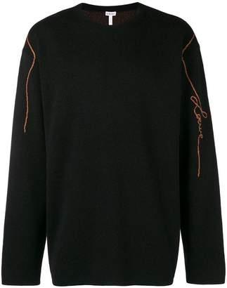 Loewe logo jacquard jumper