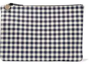 Clare Vivier Gingham Leather Pouch