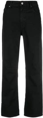 MM6 MAISON MARGIELA cropped straight leg jeans