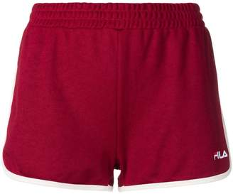 Fila logo embroidered track shorts