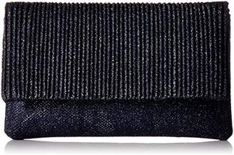 Jessica McClintock Priscilla Lurex Pleated Foldover Clutch