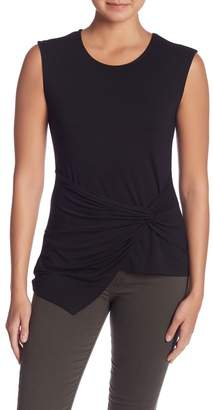 Vince Camuto Front Knot Sleeveless Blouse