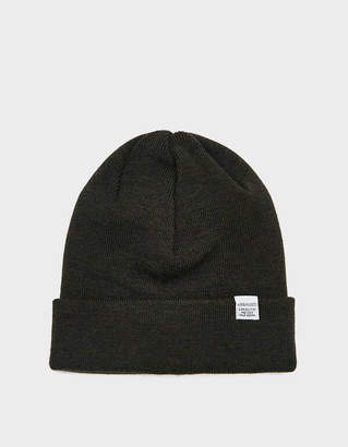 Norse Projects Norse Top Beanie in Beech Green
