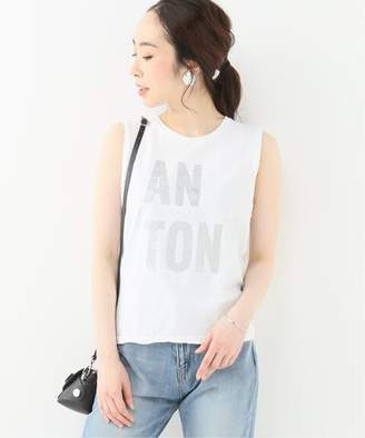 Iéna (イエナ) - IENA THE NEWHOUSE ANTON ノースリーブTシャツ