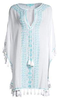 Melissa Odabash Annie Embroidered Coverup