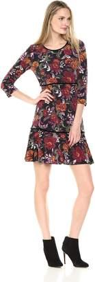 MSK Women's Floral Fit & Flare