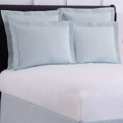 Wrap-Around Wonderskirt Standard Pillow Sham in Light Blue