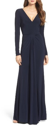 Women's Vera Wang Jersey Gown $278 thestylecure.com