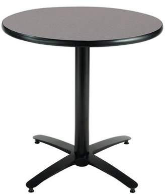 KFI seating KFI Seating 30in Multiple Colors Round Pedestal Table with Arched X Base, Commercial Grade