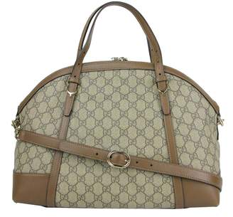 Gucci Nice Top Handle Monogram GG supreme Small Beige/Brown