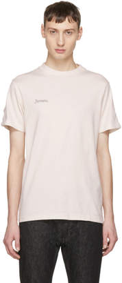 Facetasm Pink Rib Basic T-Shirt