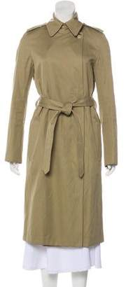 Helmut Lang Belted Long Coat