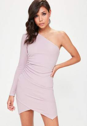Missguided One Shoulder Bodycon Dress