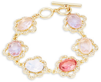 Carolee Carolee Spring Bouquet Toggle Bracelet