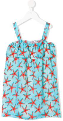 MC2 Saint Barth Kids Sea Star print dress