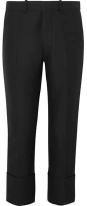 Marni - Cropped Cotton Slim-leg Pants - Black