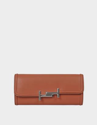 Tod's Double T Long Flap Wallet